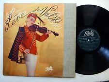REVE DE VALSE LP Classical Opera VG+ vinyl PATHE Dtx 30160 France    #665