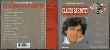 CD 12 TITRES CLAUDE BARZOTTI THE VERY BEST OF 1993 DIAMOND COLLECTION
