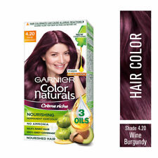 Garnier Color Naturals Creme Nourishing Hair Color - 4.20 Wine Burgundy 70ml+60g