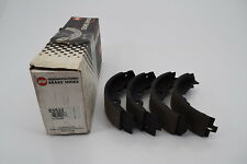 EIS ES522 Relined Drum Brake Shoe Set - Rear