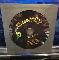 Insane Clown Posse - Thug Pit CD Hallowicked 2003 Esham Tech N9ne KMK ICP RARE
