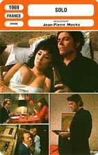 FICHE CINEMA : SOLO - Mocky,Bréal,Deleuze 1969