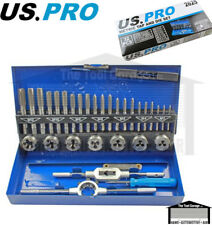 US PRO Tools 32pc Metric Tap And Die M3 - M12 Set NEW 2625