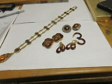Costume Jewelry , Necklace . Earrings (4 Pair) , Jay Feinberg , Trifari