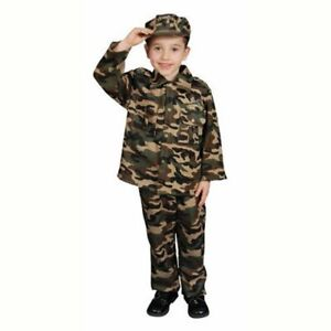 Deluxe Army Soldier Costume Set - Large 12-14