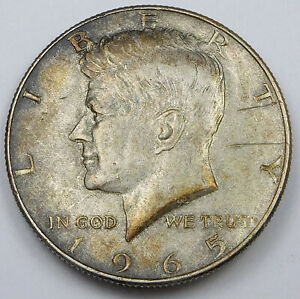 1965 Kennedy Half Dollar - Clamshell Error