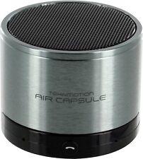 TekNmotion Air Capsule Bluetooth 3.0 Speaker w/ Microphone Grey
