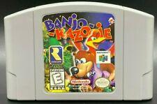 Banjo-Kazooie (Nintendo 64, 1998) - 100% Authentic - Excellent Condition