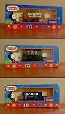 Hornby Thomas & Friends wagons - Tar R9006, S.C.Ruffey R9068 & Sodor Scrap R9056