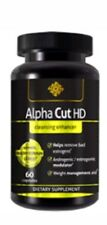 Alpha Cut Testosterone Support Lean Muscle Stack Arginine MaxNO Nitric Pro Build