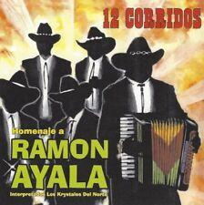 Homenaje a Ramon Ayala / 12 Corridos - Los Krystales Del Norte - CD Album, NEW