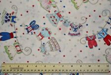 Troy Corporation Vintage Vogue Laundry clothes white By the 1/2 yd cotton fabric