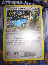 POKEMON NEUF PROMO MONORPALE 7/12 2013 MACDO HAPPY MEAL NEAR MINT HOLO FRENCH