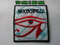 Moonspell Patch Sew / Iron On Music Festival Embroidered Badge