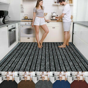 Heavy Duty Rubber Barrier Mat Small Large Door Mat Hallway Runner Kitchen Rugs