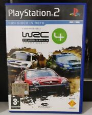 WRC 4 fia world rally CHAMPIONSHIP PS2 ITALIANO SONY PLAYSTATION 2 COME NUOVO