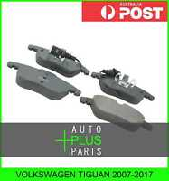 Fits VOLKSWAGEN TIGUAN 2007-2017 - Pad Kit, Disc Brake, Front