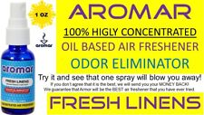 BUY 2 GET 1 FREE 😍 AROMAR 100%HIGHLY CONCENTRATED AIR FRESHENER FRESH LINENS 1