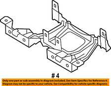 FORD OEM Fuse Relay-Lower Cover Bracket 7L1Z14A254AA