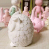 3D Food Grade Silicone Owl Bird Candle Molds Soap Mold DIY Craft Wax Resin Mould