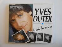 YVES DUTEIL : LES DATES D'ANNIVERSAIRES [ CD-MAXI promo PORT GRATUIT ]