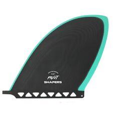 """Shapers Fins - 8.8"""" D-Fin - Black Mint - Longboard - Surfboard - Surf - New"""