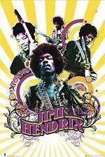 Jimi Hendrix: Collage-Maxi Poster 61cm X 91,5 Cm (nuevo Y Sellado)