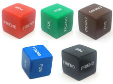 Single 'Friend or Foe' 16mm D6 Chessex Dice