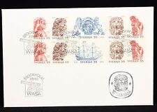 Stockholm Sweden 1969 Booklet Panel First Day Cover FDC