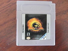 MORTAL KOMBAT 4             -----   pour GAME BOY  / USA