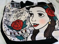 Nwt Beauty And The Beast Belle Crossbody Disney Rose Tattoo Hobo Tote Bag Purse
