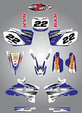 Yamaha YZF 250 2003 - 2005 SHOCKWAVE style full graphics kit / stickers / decals