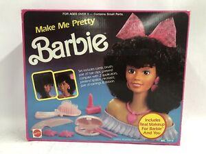 RARE HISPANIC BARBIE Vintage Mattel 1989 Make Me Pretty Barbie #7410 New