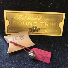 Polar Express Bell • Believe • Silver Jingle Bell • Santa • Christmas Eve box