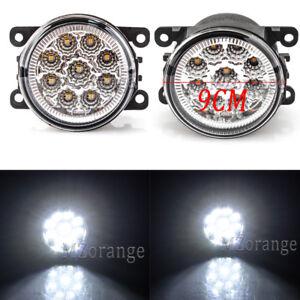 2X For 2012 2013 2014 2015 Subaru Impreza XV Crosstrek LED Fog Light Lamp Pair
