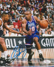 Tim Hardaway Autographed 8x10 Photo NBA All-Star Game with JSA C.O.A