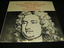 Spoken Word LP: GULLIVER'S TRAVELS: read by Denis Johnson; Spoken Arts,inc.