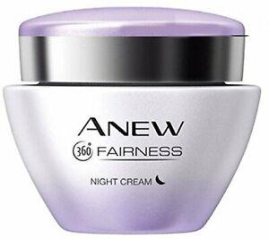 Avon Anew White Night Cream 50 gm Free Ship