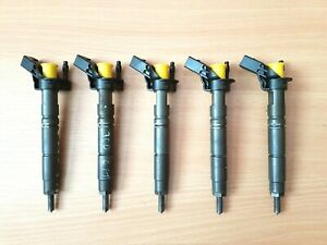 0445115072 CHRYSLER 300C 3.0CRD 5x FUEL INJECTORS OEM A6420701887 TESTED