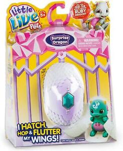 Green Little Live Pets Surprise Baby Dragon Egg Interactive Pet Toy