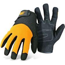 Caterpillar Cat Padded Palm Mesh Back Work Gloves 3X-Large