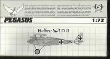 Pegasus Modèles 2022 Halberstadt D. II en échelle 1:72