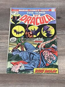 Tomb of Dracula 15 Marvel 1973 1 Owner High Grade Near Mint NM 9.4