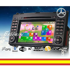 Autoradio CD DVD GPS Bluetooth USB MP3 para Mercedes Benz W245 Viano Vito