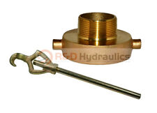 Fire Hydrant Adapter Combo 2 12 Nstf X 1 12 Nptm Withhydrant Wrench
