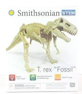 New Smithsonian T Rex Fossil Build a T Rex STEM Dinosaurs Paleontology 8+ Kids