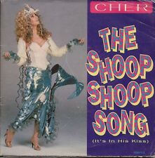 """Cher The Shoop Shoop Song (It's In His Kiss) Poster sleeve UK 45 7"""" sgl +Pic Slv"""