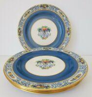 "Lenox ""Autumn"" 8 1/2"" Plate; Blue Band, green backstamp, set of 4"