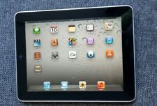 "Apple iPad 1st Generation 9.7"" 32GB Tablet A1219 Black"