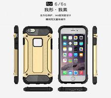 Luxury Carbon Rugged Tough Armour Case Cover for iPhone 5S SE 6 6S plus 7 7Plus